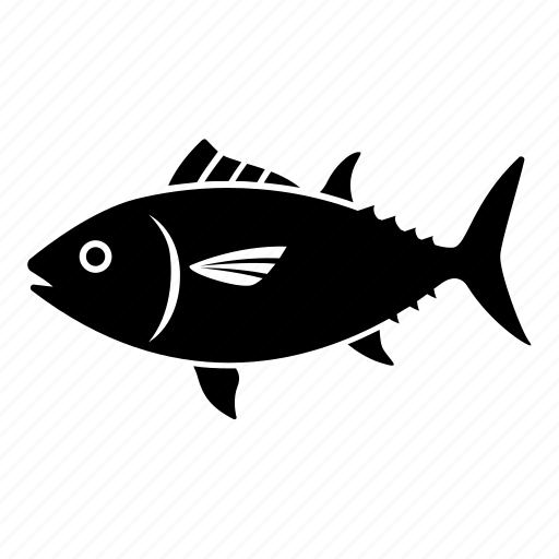 bluefin, canned, fish, fishing, mackerel, ocean, tuna icon