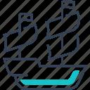maritime, pirates, ship, transport