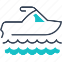 maritime, sea, sport, transport icon