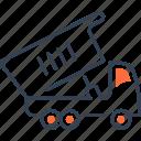 car, maritime, transport, truck icon