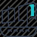 maritime, sailing, ship, transport, yacht icon