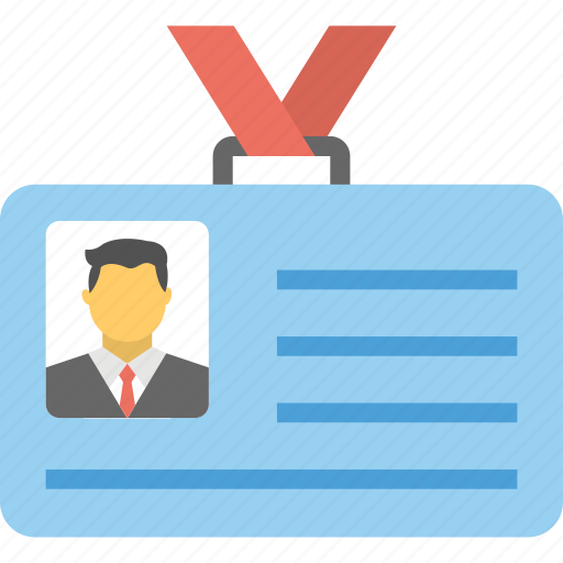business id, employee card, id card, identification, identity card icon