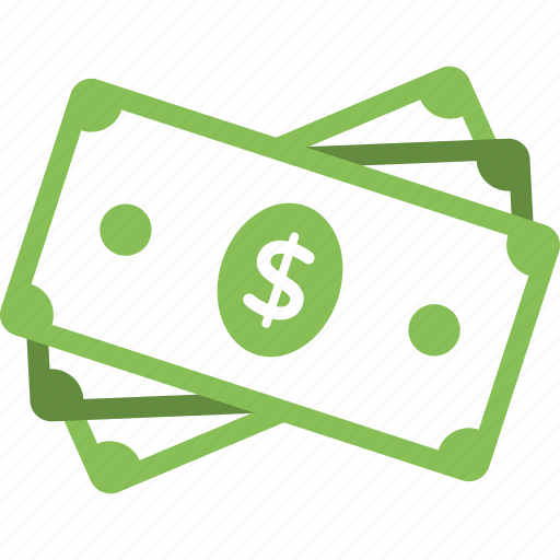 cash, dollar bills, financial abundance, money, wealth icon