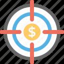 market segmentation, marketing management, marketing strategy, promotional content, target marketing icon