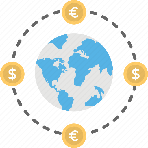 currency exchange, foreign exchange, forex, money exchange, money market icon
