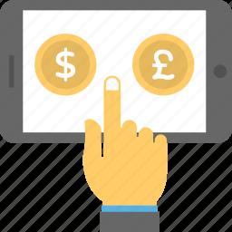 m-commerce, mobile advertising, mobile commerce, mobile marketing, online marketing icon