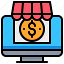 computer, market, money, online, shop, shopping icon
