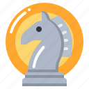 chess, horse, marketing, strategic, strategy icon