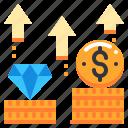 currency, goal, growth, money, saving, term