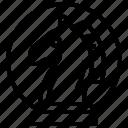 chess, horse, marketing, strategic, strategy icon