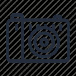 market, photo, photo camera, stroke icon