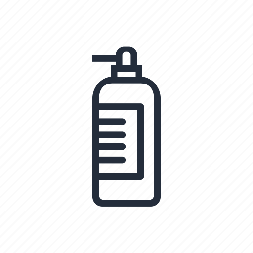 clean, cleaning, household chemicals, market, soap, stroke icon