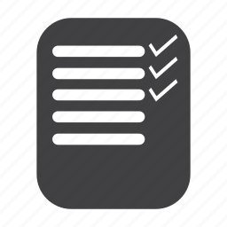 checklist, correct, done, list, tick, to do list icon