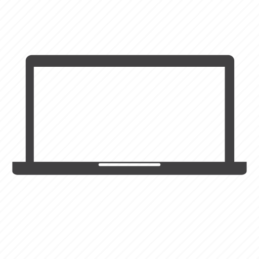 computer, device, laptop, notebook, pc, personal computer, screen icon