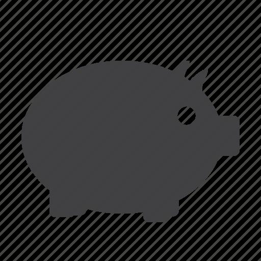 bank, coin, guardar, money, pig, piggy, piggy bank, save icon