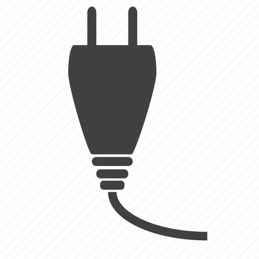 cable, cord, electric, plug, plug in, plugins, power icon