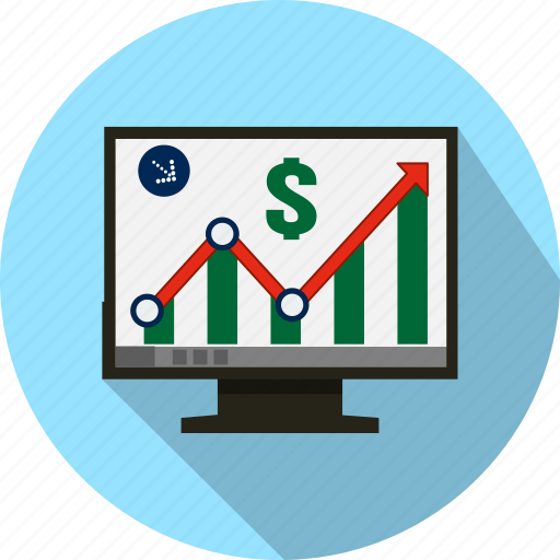chart, diagram, graph, marketing, report, statistics icon