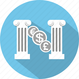 banking, business, cash, exchange, finance, money, shopping icon