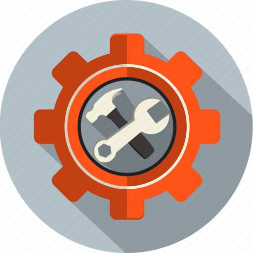 cog, configuration, gear, repair, service, setting, tool icon