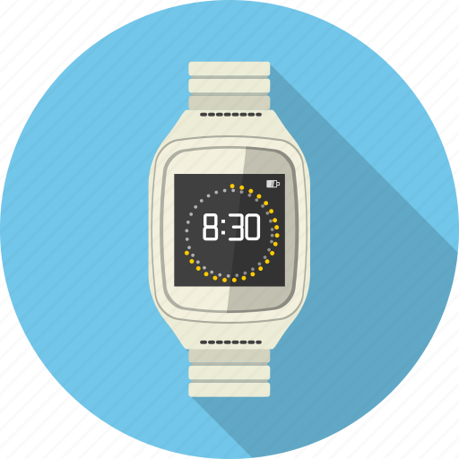 clock, handwatch, smartwatch, time, watch icon