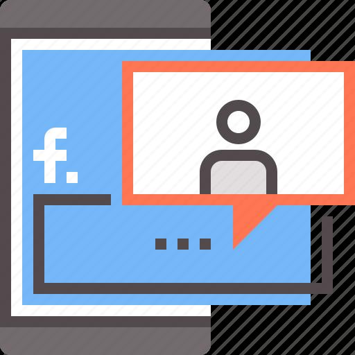 facebook, facebook marketing, networking, social, social media icon