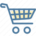 bag, basket, cart, checkout, ecommerce, online shop, shopping cart icon
