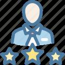 businessman, client, customer, man, pro member, profile, vip user icon