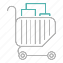 basket, marketing, sale, shopping icon