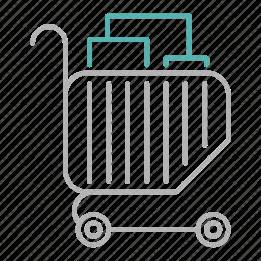 Marketing, sale, basket, shopping icon
