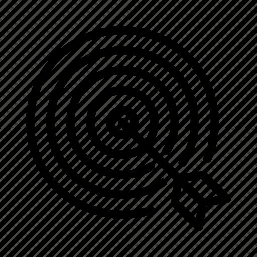 bulls eye, goal, marketing, optimization, seo, target icon