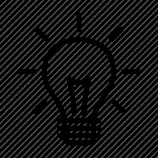 bulb, concept, creativity, idea, light icon