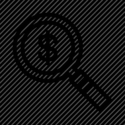 analytics, finance, marketing, optimization, revenue icon