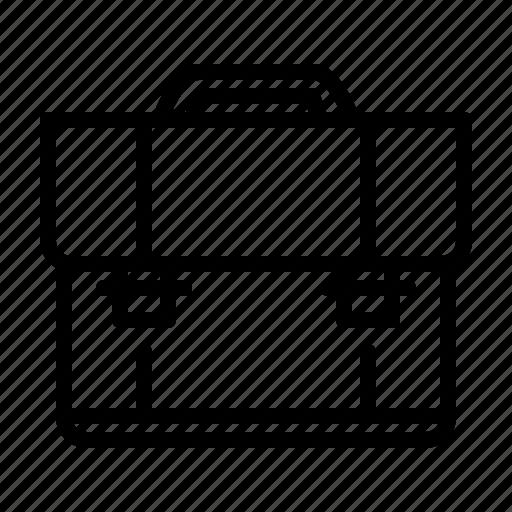 briefcase, business, marketing, suitcase icon
