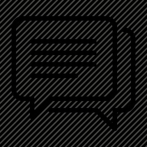 chat, communication, marketing, promote, speech, talk icon