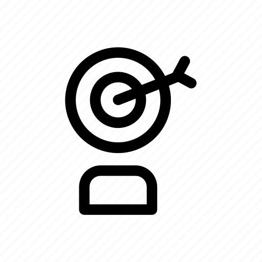 advertising, announcement, customer, dart, marketing, promotion, target icon