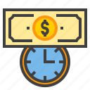 business, connect, finance, marketing, time icon
