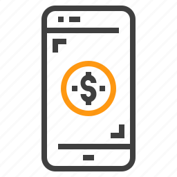 banking, business, connect, finance, marketing, mobile icon