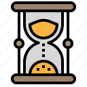 clock, loading, sand, time, timer icon