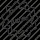 discount, label, ribbon, shopping, sticker, tag icon