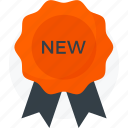 award, badge, medal, new, present, star, year icon icon
