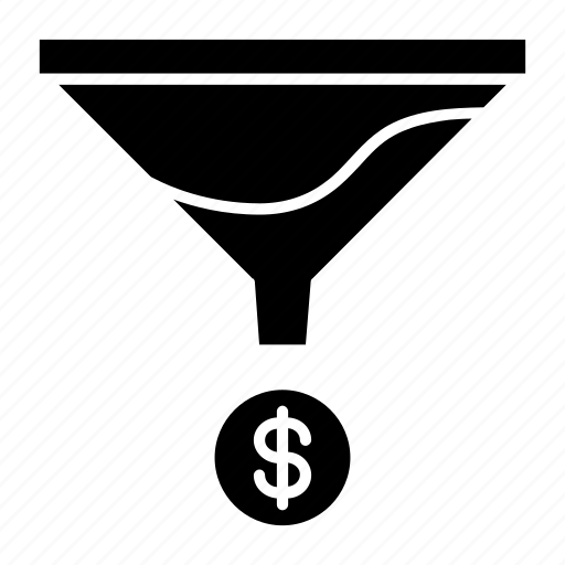 filter, filtering, financial, funnel, marketing, tool, tools and utensils icon
