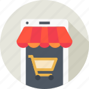 cart, ecommerce, mobile, online, shop, shopping, store