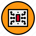 chip, marketing, technology icon