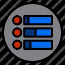 control, data, marketing icon