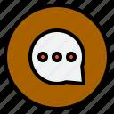 inbox, marketing, massage, talk icon