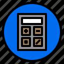 calculator, financial, marketing, sale icon