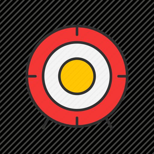 crosshair, goal, market, target icon