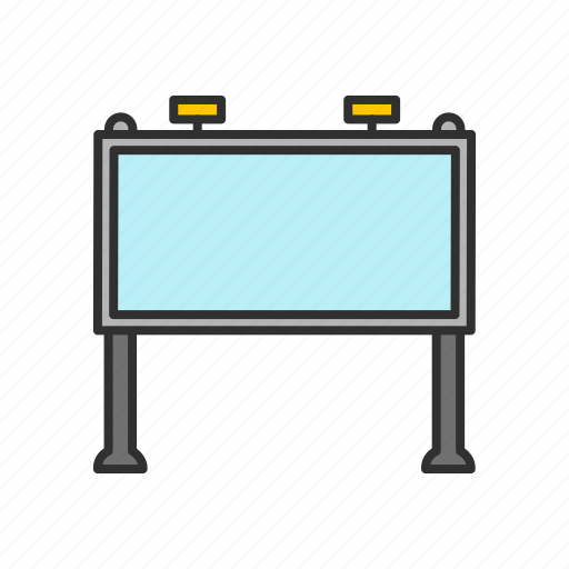 ad, advertisement, billboard, marketing icon