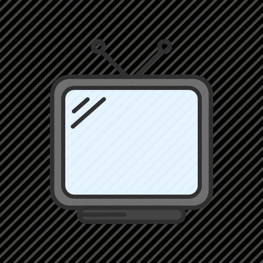 appliance, marketing, television, tv icon