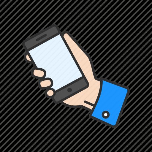 call, gadget, phone, social media icon